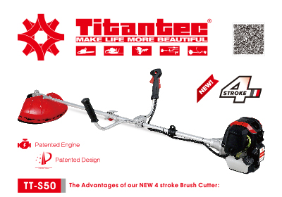 New 4 Stroke Brush Cutter Model