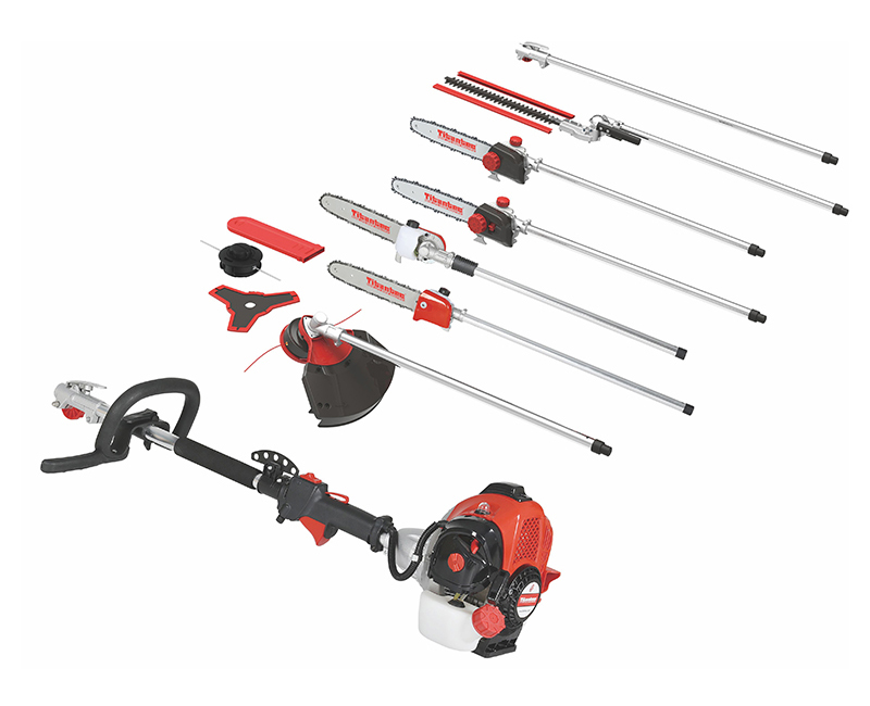 4 In1 Multifunction Brush Cutter Gasoline Hedge Trimmer 26cc 2stroke TT-M3403-1