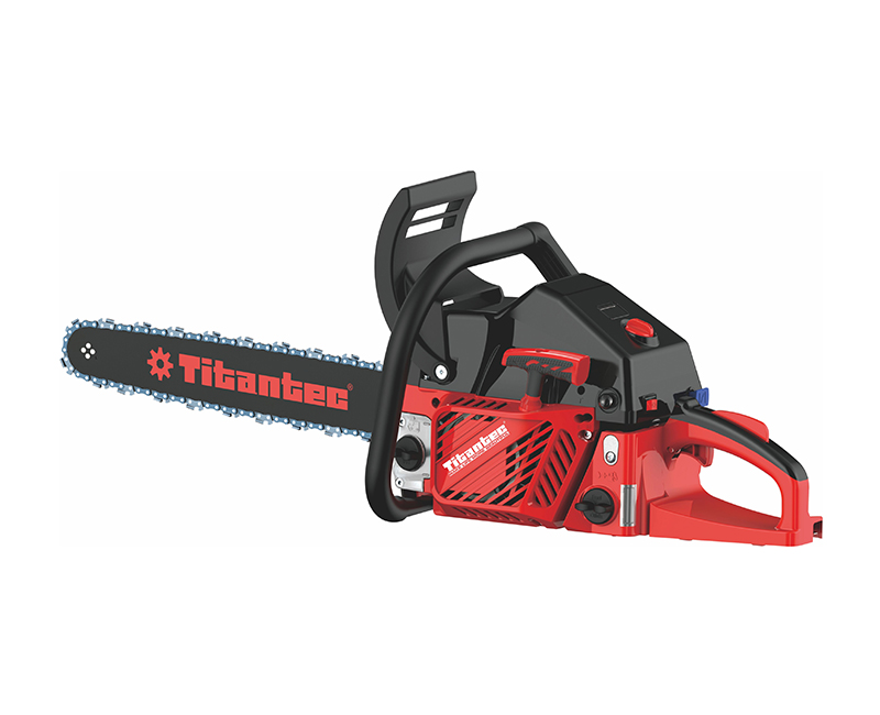 ዩሮ ኦ ቪ ነዳጅ ነዳጅ Chainsaw 49.3cc TT-CS493